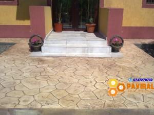 beton amprentat 11
