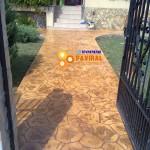 beton amprentat 20