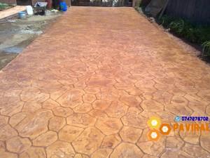 beton amprentat 8