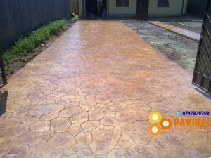 beton amprentat 9